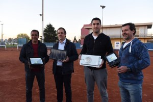 Diario La Noticia - Luces LED para las canchas de tenis del Club Independiente